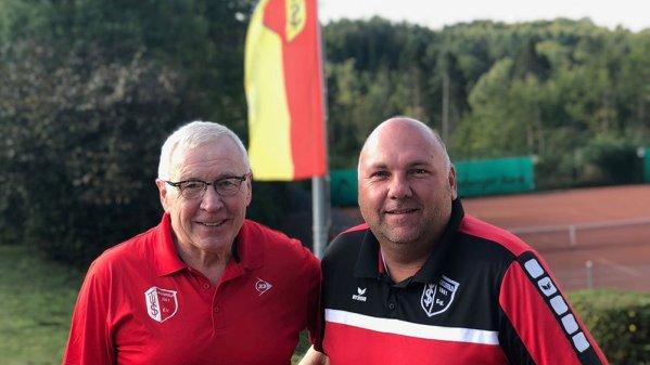 Wilhelm Ristau und Elmar Schneiders. Foto: Ben Schneiders