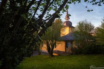 Die Gnadenkirche in Bergisch Gladbach. Foto: Thomas Merkenich