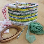 Make a recycled market bag