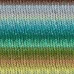 kureyon-344 lt blue/greens multi yarn