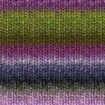 kureyon- 188 purple/green multi yarn