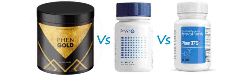 PhenGold vs PhenQ vs Phen375