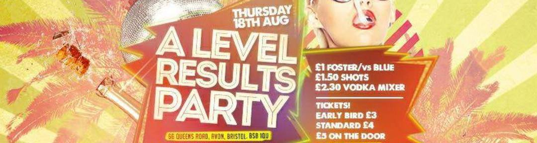 THE BIG A-LEVEL RESULTS PARTY @ LIZARD LOUNGE on Thu 18th Aug 2016 at Lizard Lounge, Bristol | Fatsoma