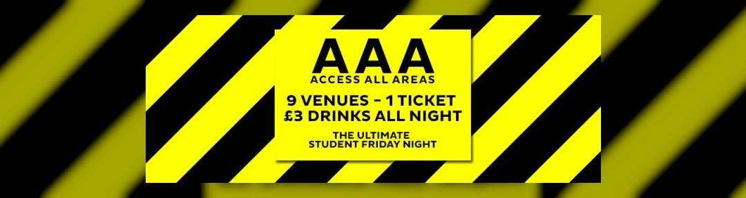 AAA Access All Areas – The Ultimate Friday Night on Fri 19th Aug 2016 at Bar Soho, London | Fatsoma