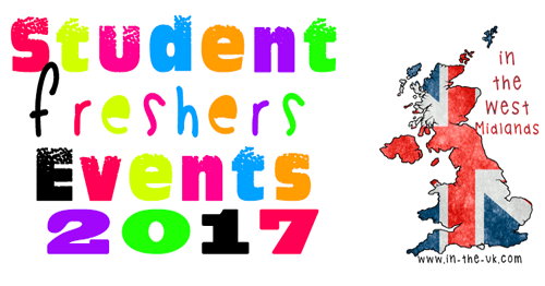 Freshers Tickets for Events in the West Midlands