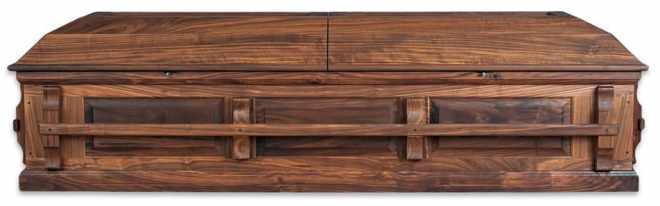 Beautiful Wooden Casket