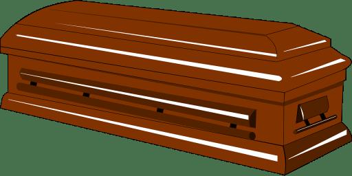 Rectangle casket (not a coffin)