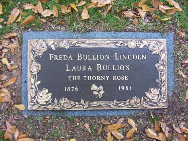 Laura Bullion Grave Marker