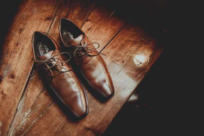 Leather Shoes for Funeral