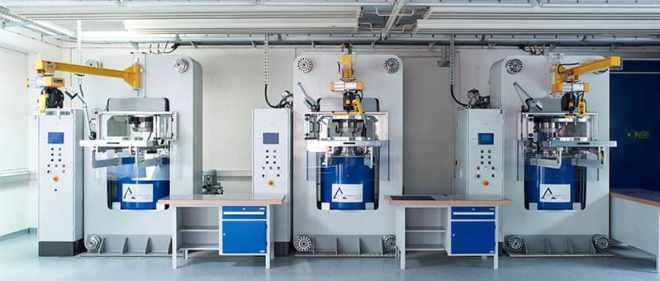 HPHT (High Pressure High Temperature) Machines of Algordanza