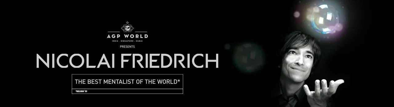 Nicolai Friedrich: The Best Mentalist in the World  in Amphitheatre, UB City