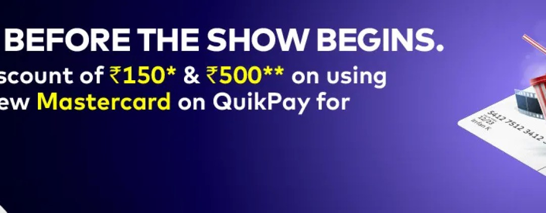 BookMyShow MasterCard Offer