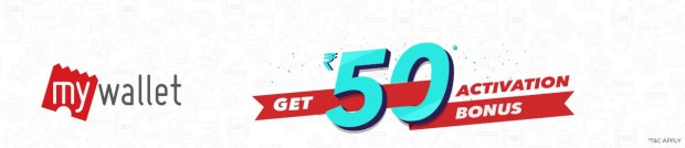 Bookmyshow Free Rs 50 Balance By Activating MyWallet Offer