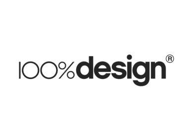 100% Design Logo