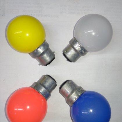 LED Round Night Lamp (pack of 100 Pcs)-[product_type]-B22 / India / White-Khadiza Electricals