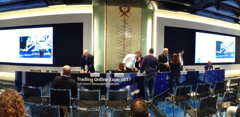 Trading Online Expo alla Borsa di Milano