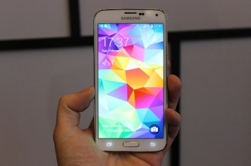 Το Galaxy S5 της Samsung πλησιάζει…