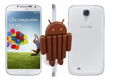 Η Samsung κάνει διαθέσιμη την 4.4.2 KitKat για το Galaxy S4