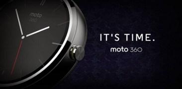 Moto 360 Smartwatch. Το Wearable της Motorola