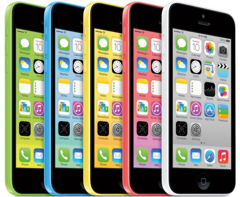 Το iPhone 5c 8GB θα έχει μόνο 3.7GB λιγότερη μνήμη από το Samsung S4 16GB