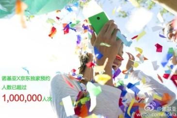 Nokia X: 'Ενα εκατομμύριο προπαραγγελίες στην Κίνα