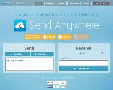 Send Anywhere: Μεταφέρετε αρχεία εύκολα, γρήγορα και με ασφάλεια
