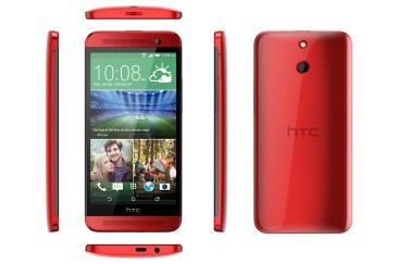 HTC One E8: Κατασκευασμένο απο πλαστικό
