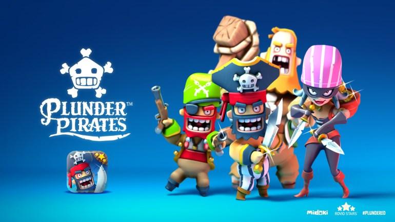 Plunder Pirates. Το νέο παιχνίδι της rovio
