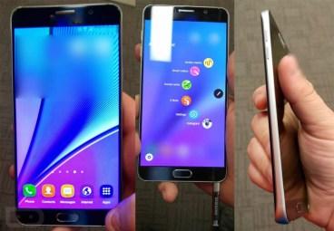 Samsung Galaxy Note 5: Περισσότερες φωτογραφίες του