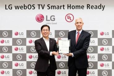 Η πλατφόρμα LG WEBOS 3.0 λαμβάνει πιστοποίηση από τον οργανισμό UL