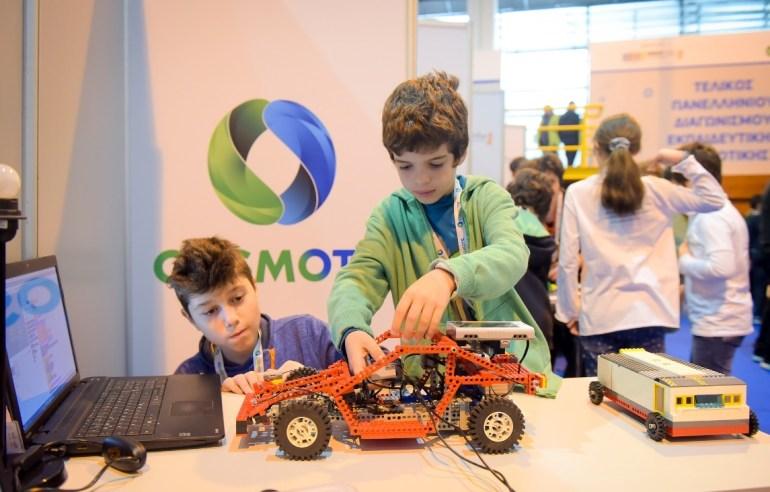 Οι μαθητές έδειξαν το μέλλον στον τελικό του Πανελλήνιου Διαγωνισμού Εκπαιδευτικής Ρομποτικής
