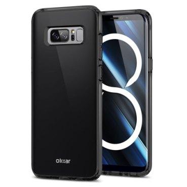 Galaxy Note 8 : Φωτογραφίες του από κατασκευαστή θήκης