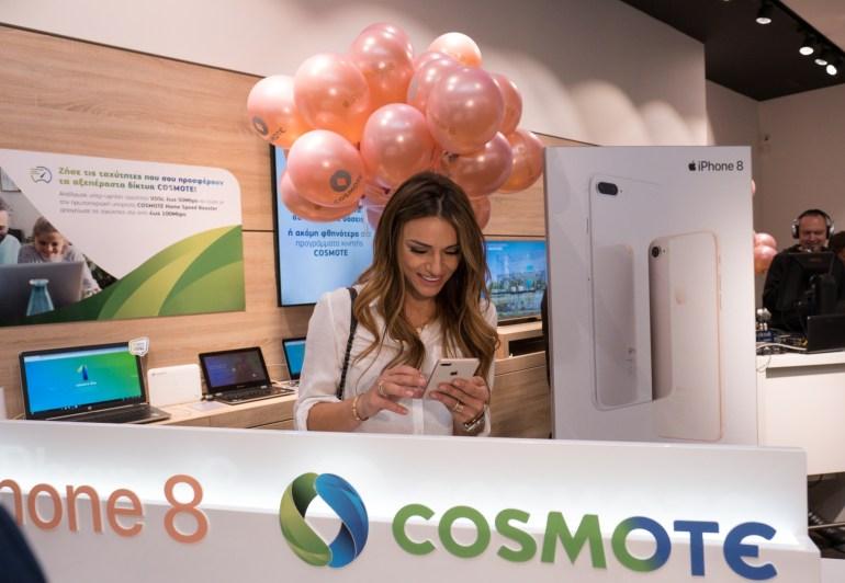 Τα νέα iPhone 8 και 8 Plus στα καταστήματα COSMOTE – ΓΕΡΜΑΝΟΣ