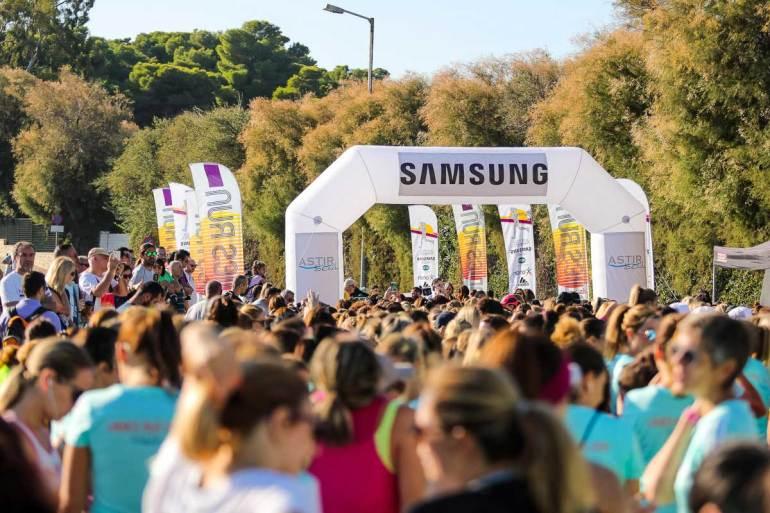 Η Samsung χρυσός χορηγός του Ladies Run