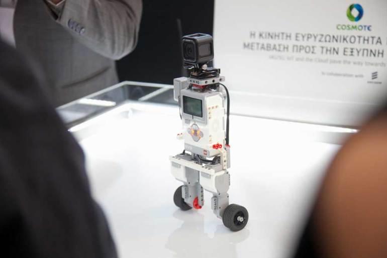 Η Ericsson με την Cosmote επιδεικνύουν περιπτώσεις βιομηχανικής χρήσης στο δρόμο προς το 5G
