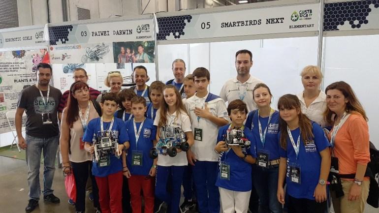 Ολυμπιάδα Εκπαιδευτικής Ρομποτικής: Χάλκινο μετάλλιο & σημαντικές διακρίσεις για τις Ελληνικές ομάδες