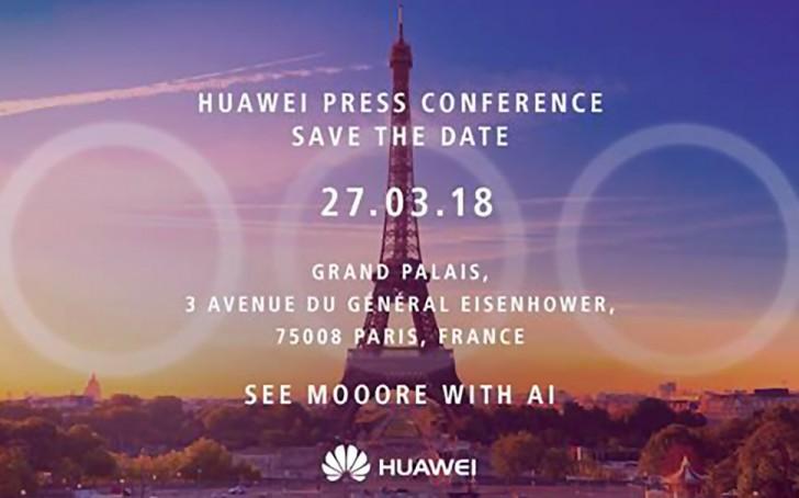 Το Huawei P20 Θα έρθει με 3 κάμερες στο πίσω μέρος