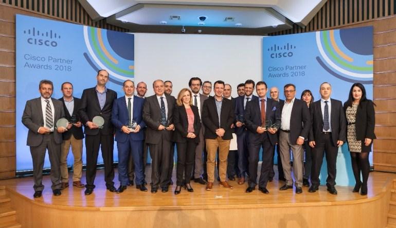 Ετήσια βραβεία συνεργατών της Cisco