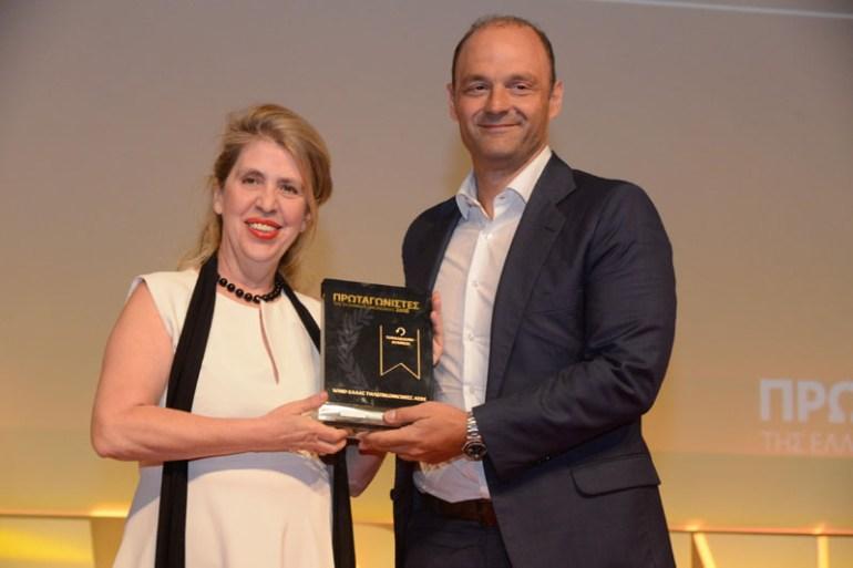 Στους Πρωταγωνιστές της Ελληνικής Οικονομίας 2018 η WIND Ελλάς, διακρίθηκε ως Turnaround Business