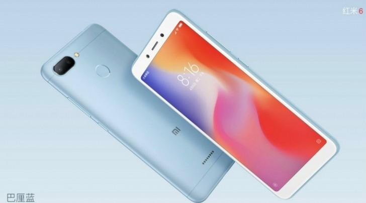 Η Xiaomi παρουσίασε τα RedMi 6 και Redmi 6A