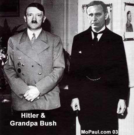 George W. Bush's grandfather, Prescott Bush, funded both sides of World War II