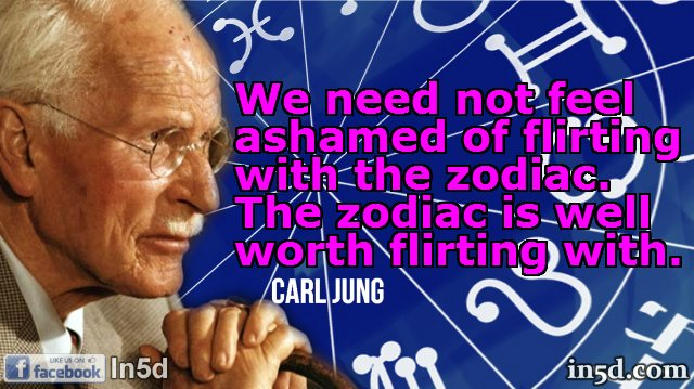 Carl Jung Astrology Quotes | In5D.com
