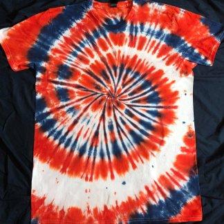Patriot Mens Quantum Tie Dye T Shirt