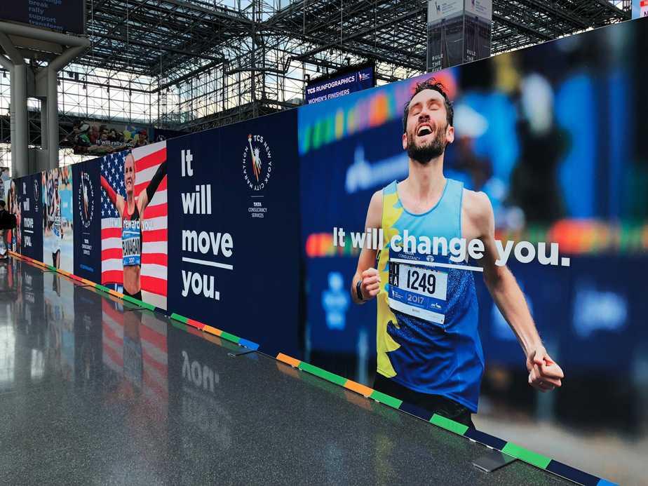 New York Marathon 2018: Messe und Hafenrundfahrt bei Nacht