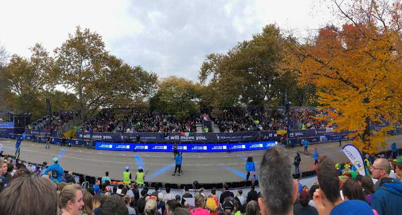 New York Marathon 2018: Parade der Nationen