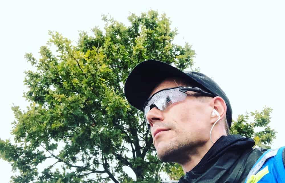Oakley Laufbrille bei Regen