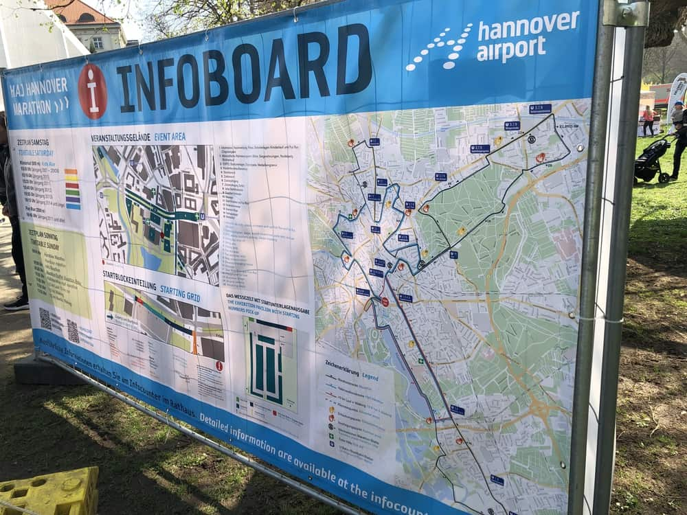 Sieg und Niederlage beim Hannover Marathon 2019