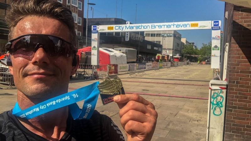 Bremerhaven Marathon 2020: (M)Eine Perle!