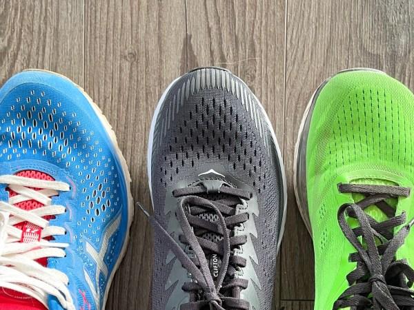 Die Zehenbox: Laufschuhe sollten nicht zu eng sein