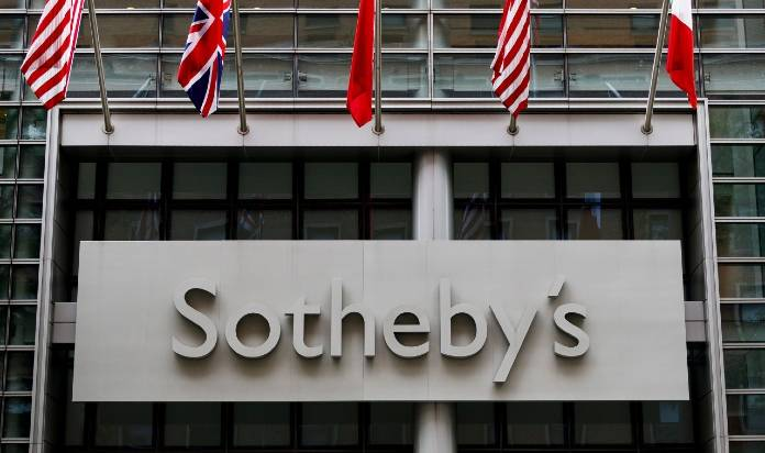 Sotheby's online sales during pandemic. Photo: artmarketmonitor